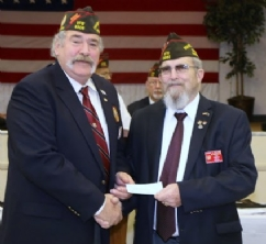 Post 6506 check presentation